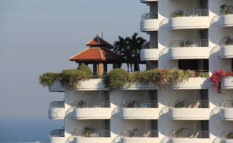Ресторан на крыше отеля
