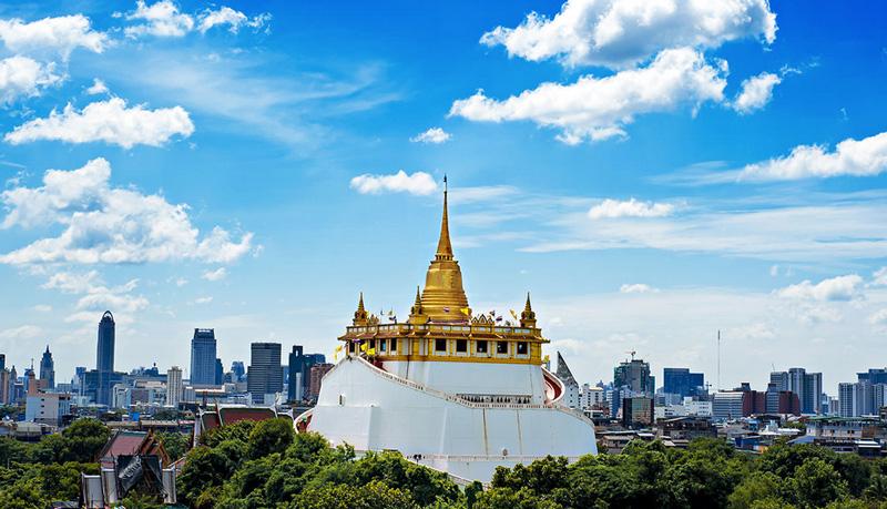 Золотая гора Бангкок
