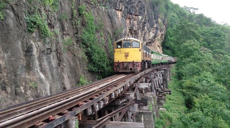 Центр железной дороги Канчанабури