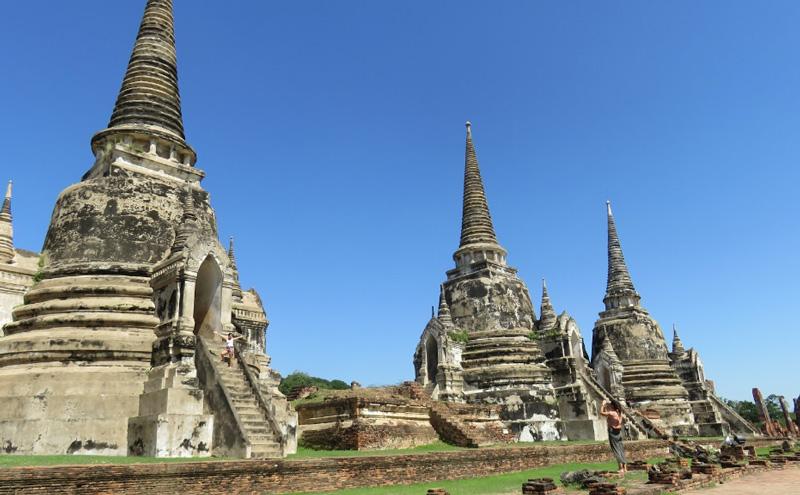 Руины буддистских храмов Аюттхая