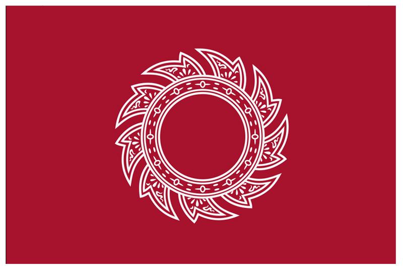 Военно-морской флаг Тайланда с 1790 по 1820 гг
