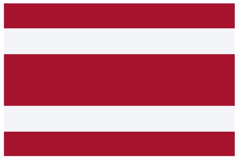 Национальный флаг Тайланда 1916 - 1917 гг.