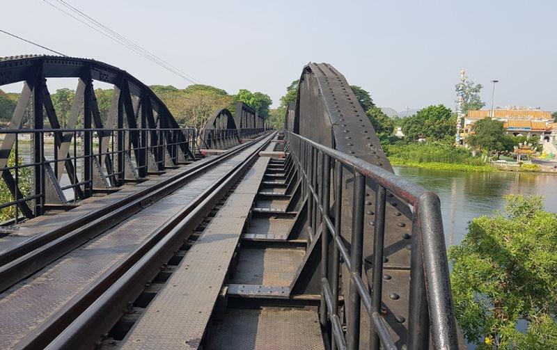 Железнодорожный мост в Канчанабури