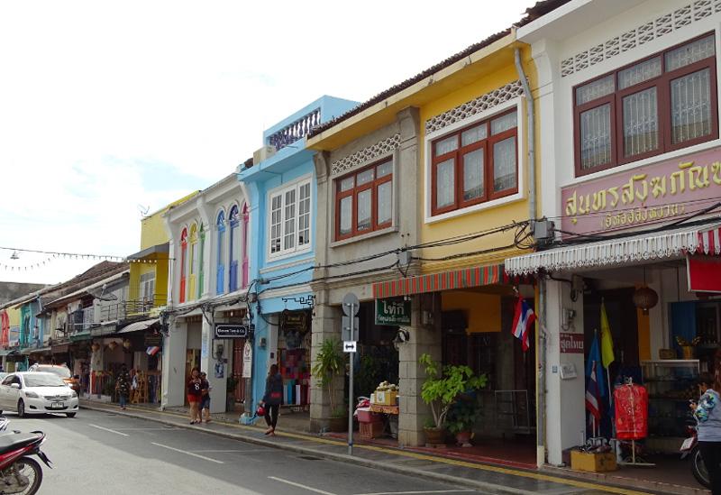 Улицы города Пхукет