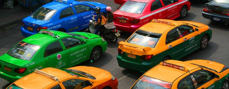 Такси из Бангкока в Паттайю