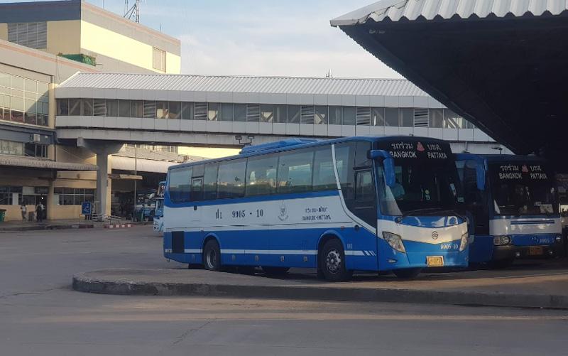 Автобус от автостанции Мочит до Паттайя
