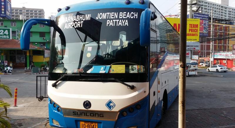 Автобус из Паттайи в Бангкок