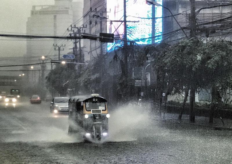Дождь в Бангкоке