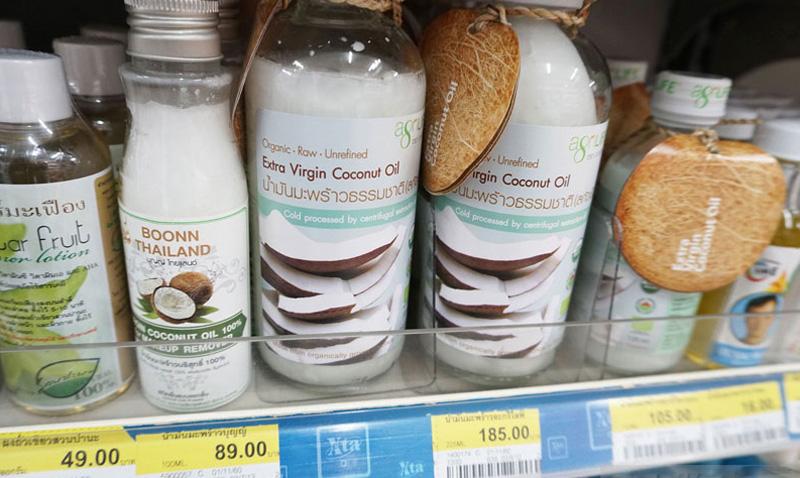 Кокосовое масло из Тайланда