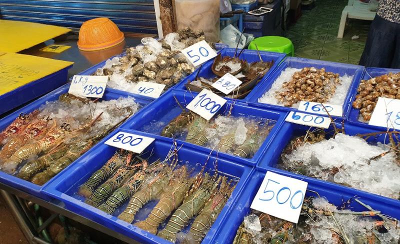 Рыбный ночной рынок Паттайи