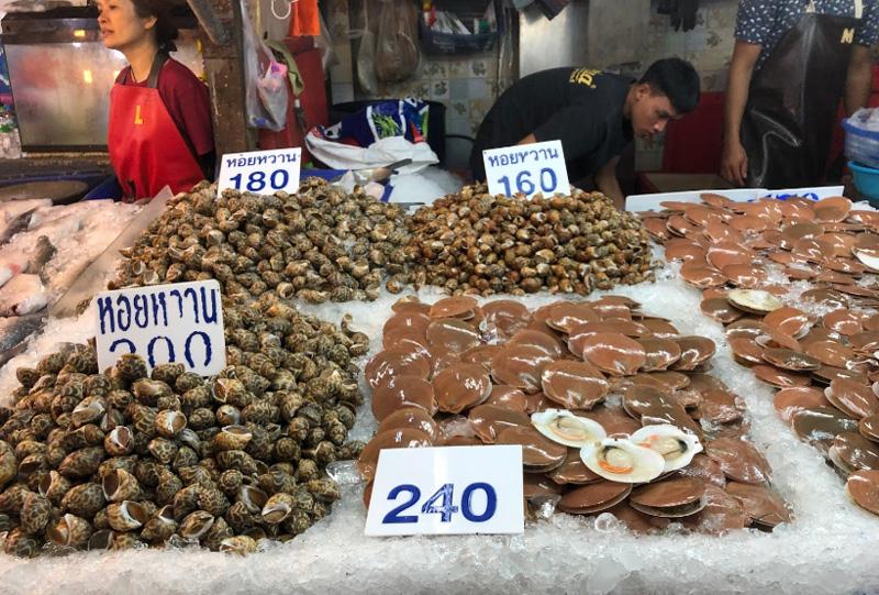 Рынок в Наклыа