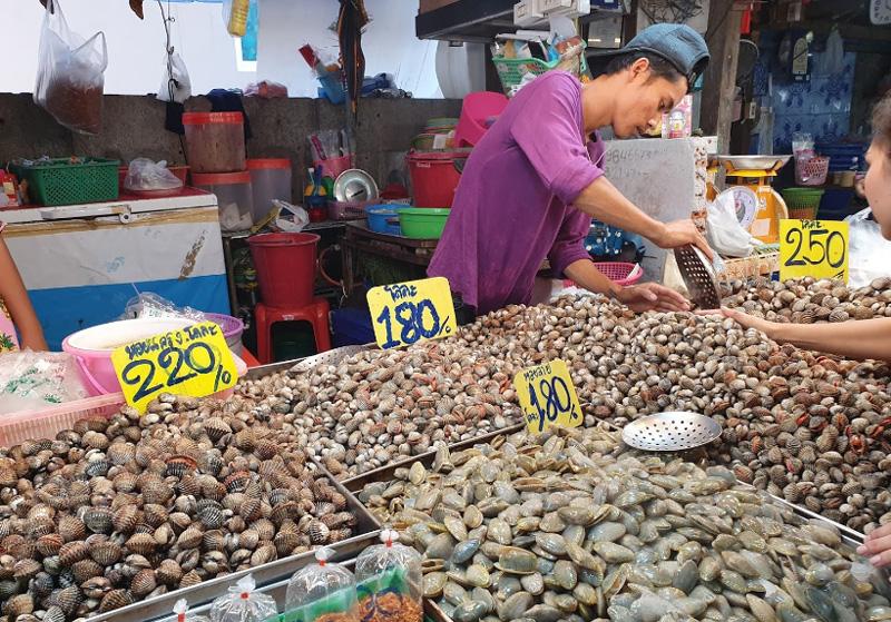 Рыбный рынок в Наклыа