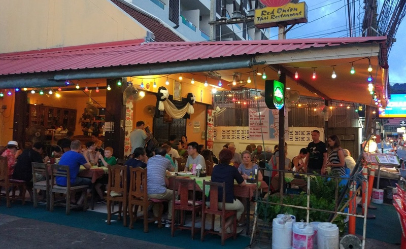 Тайский ресторан Red Onion Thai Restaurant на Кароне