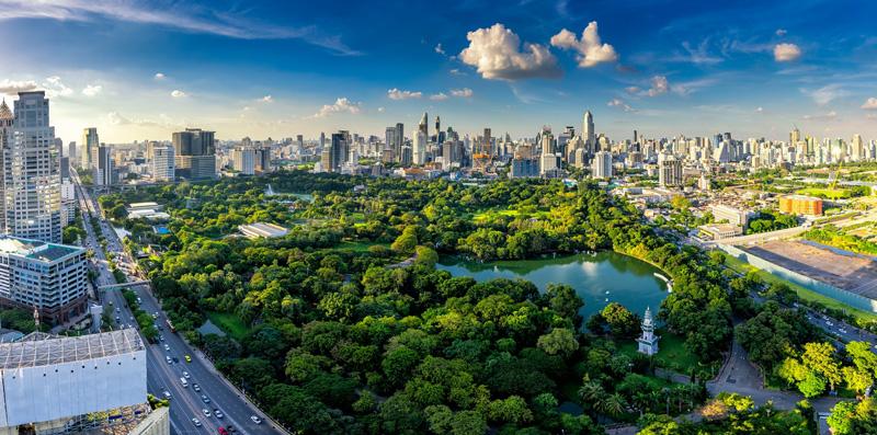 Хорошая погода в Бангкоке