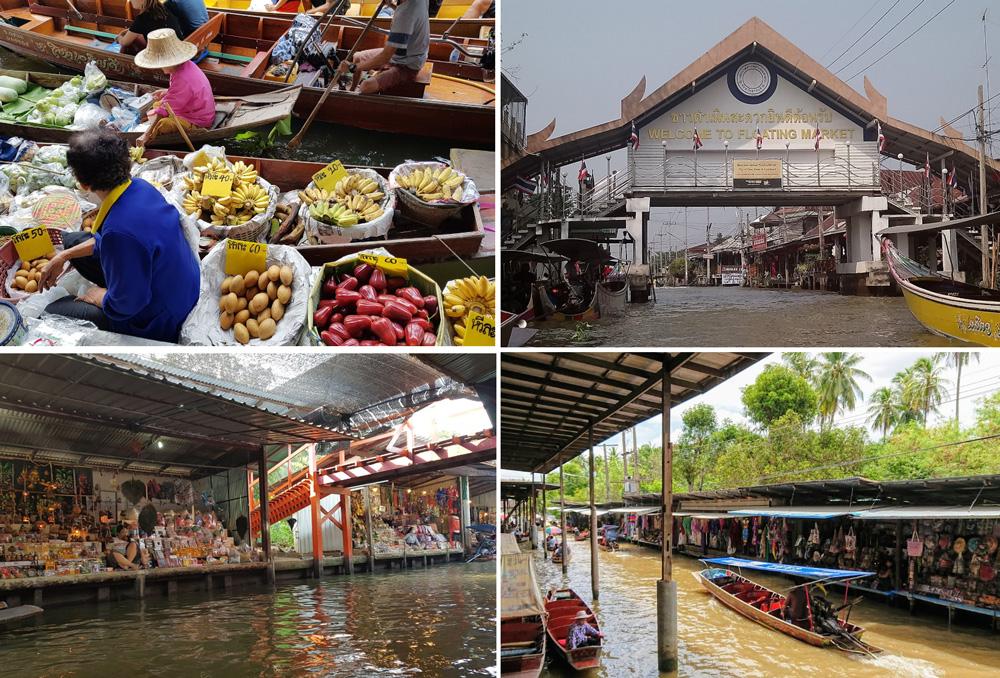 Плавучий рынок - Садуак