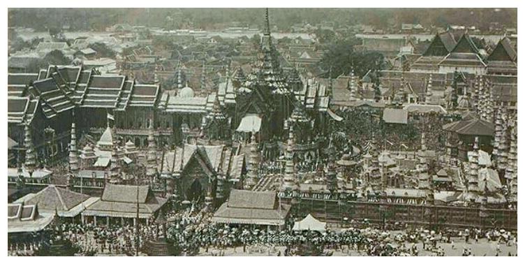 Столица Таиланда в начале 20-го века