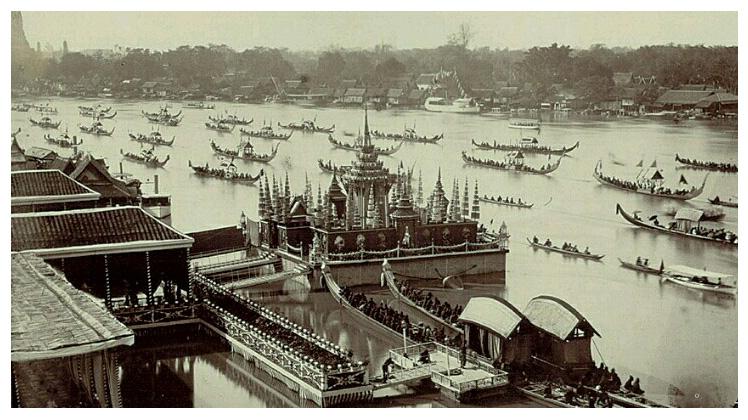 Бангкок в начале 20-го века