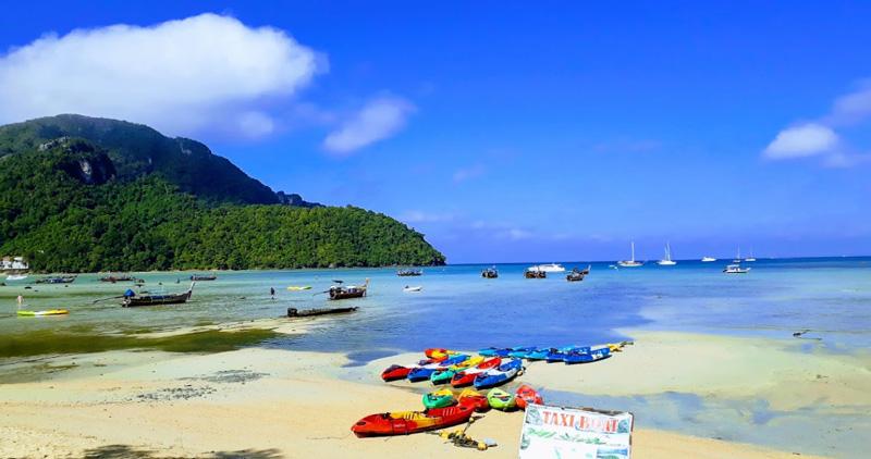 Пляж Ло Далам во время отлива