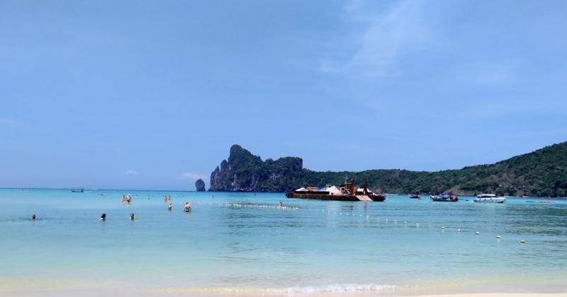 Пляж Ло Далам Пхи Пхи