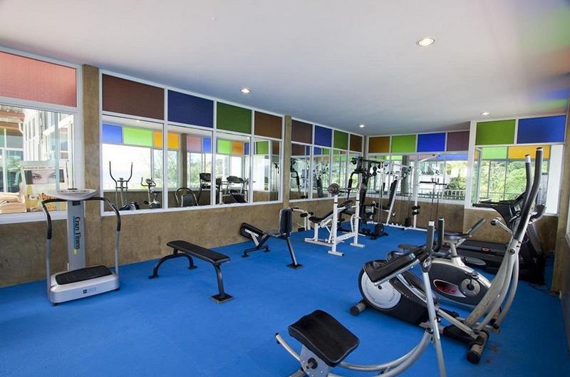 Спортивный зал в отеле Три Транг Бич Резорт Пхукет