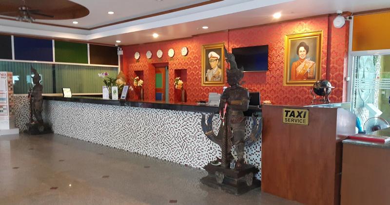 Ресепшн Tri Trang Beach Resort 4*