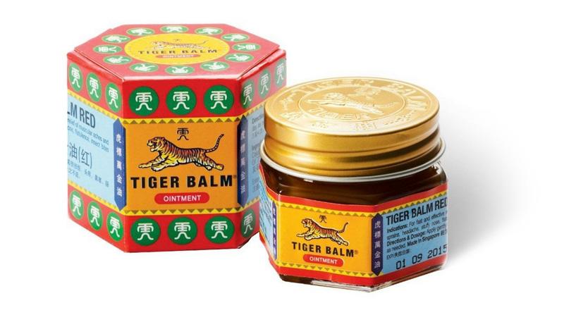 Красный Тигровый бальзам из Тайланда