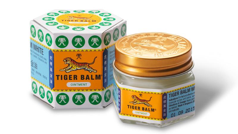 Белый Тигровый бальзам из Тайланда