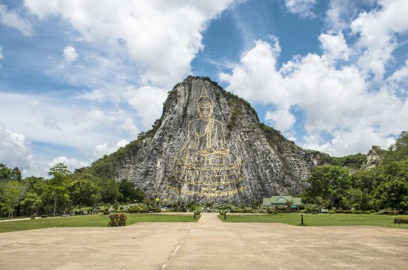 Khao Chi Chan или Гора Будды