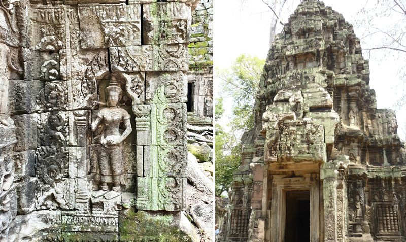 Статуи Ангкор Ват