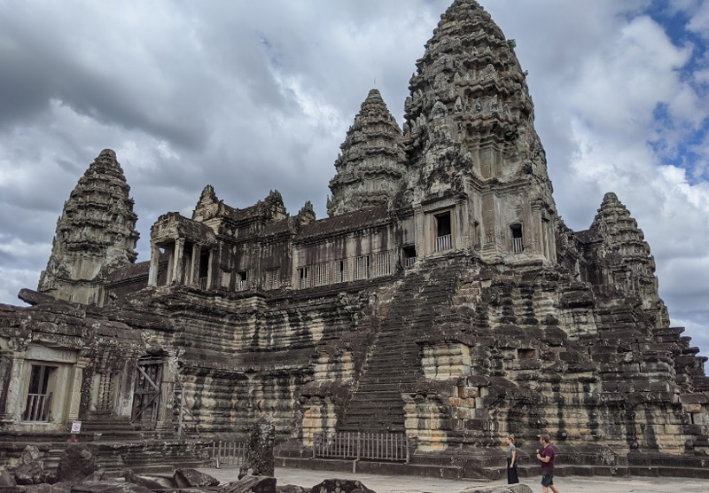 Древний город в Камбодже