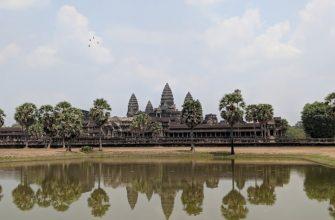 Храмовый комплекс Ангкор Ват в Камбоджи