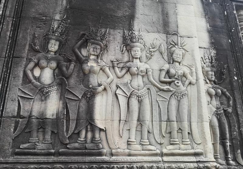 Архитектура Вангкр Ват