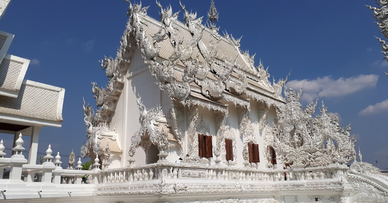 Белый Храм Тайланд