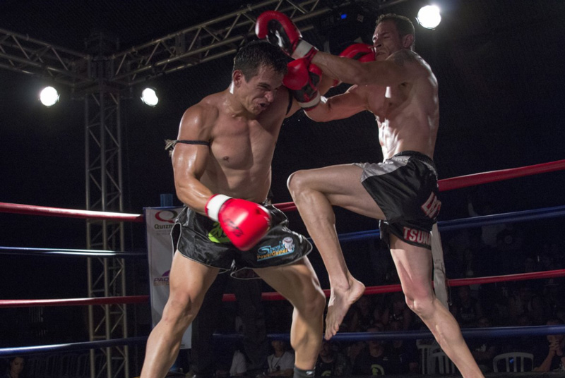 Бокс против тайского бокса