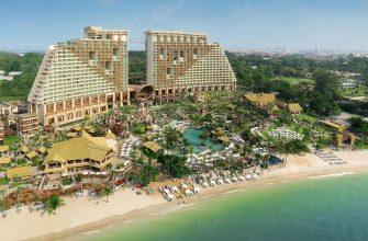 Отель Centara Grand Mirage Beach Resort Pattaya 5* (Паттайя Центара Гранд Мираж)