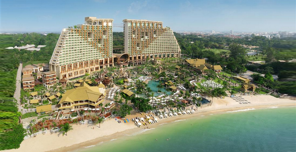 Отель Centara Grand Mirage Beach Resort Pattaya 5* (Паттайя Центара Гранд Мираж)