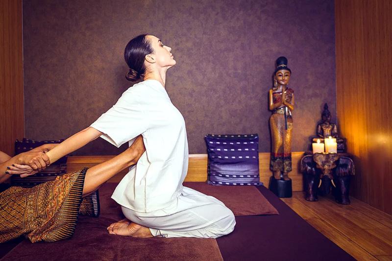 Тайский лечебный массаж в Таиланде
