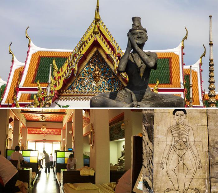 Школа тайского массажа Ват Пхо в Бангкоке
