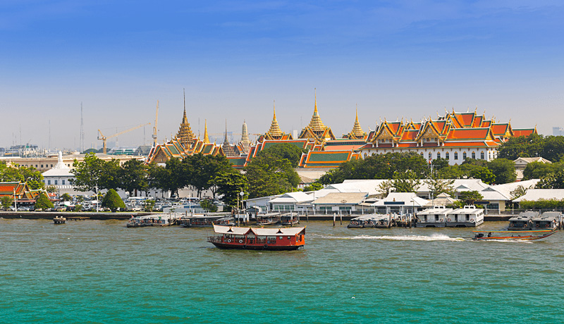 Река Чаопрайя (Chao Phraya)