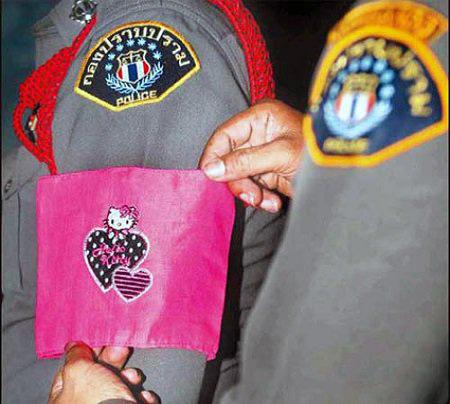 Провинившихся полицейский в Таиланде