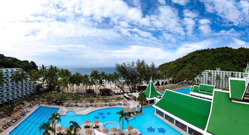 Отель le meridien phuket beach resort