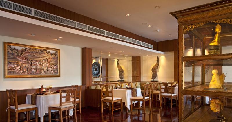 Рестораны в отеле ле меридиан пхукет