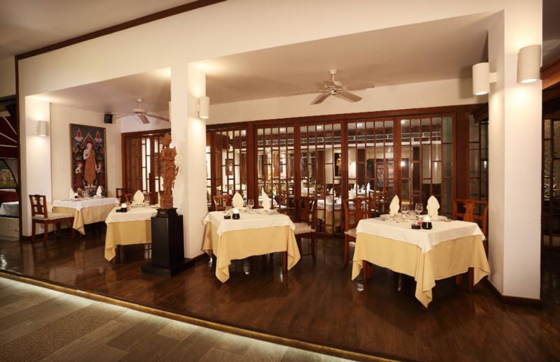 Ресторан в отеле ле меридиан пхукет