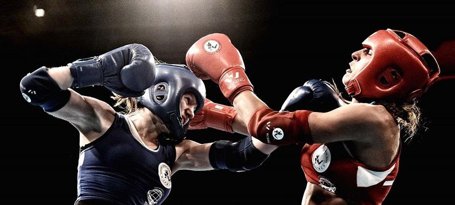 Соревновательные перчатки для тайского бокса