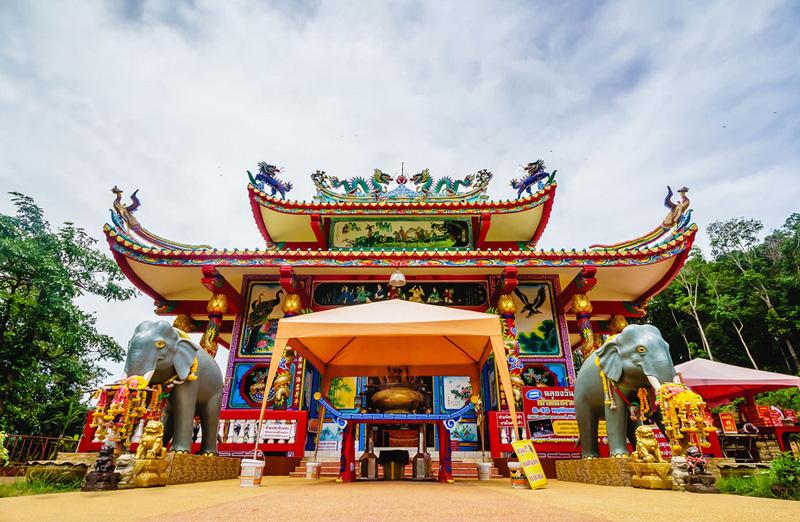 Китайский храм на острове Ко Чанг