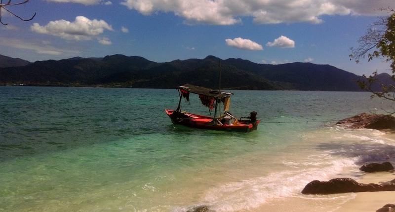 Рыбацкая лодка на Ко Чанге