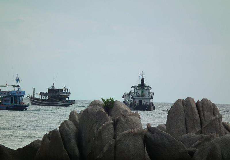 Рыбаки на Ко Чанге