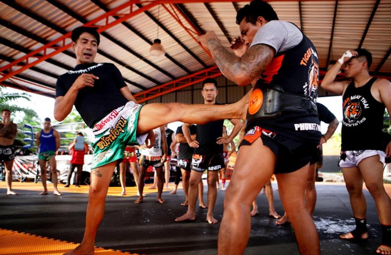 Техники и приемы тайского бокса в кемпах