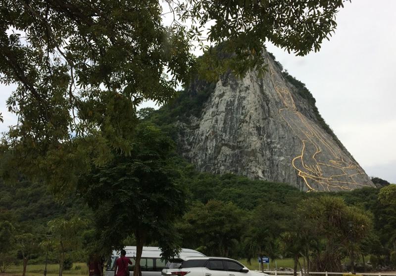 Гора Золтого Будды Кхао Чичан