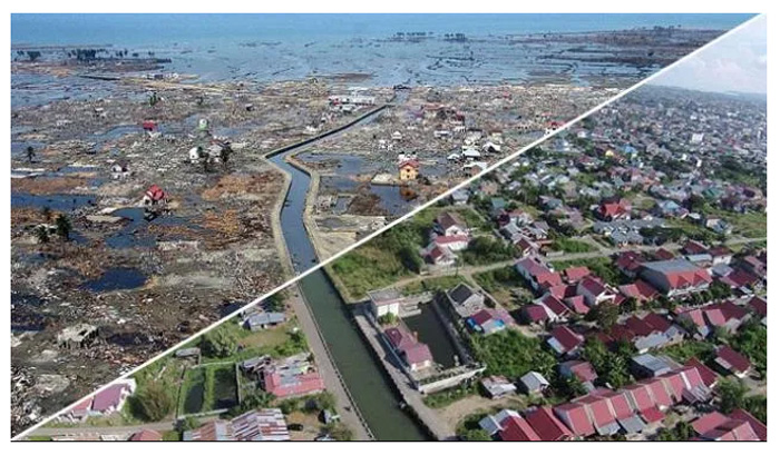 Угроза цунами Таиланда